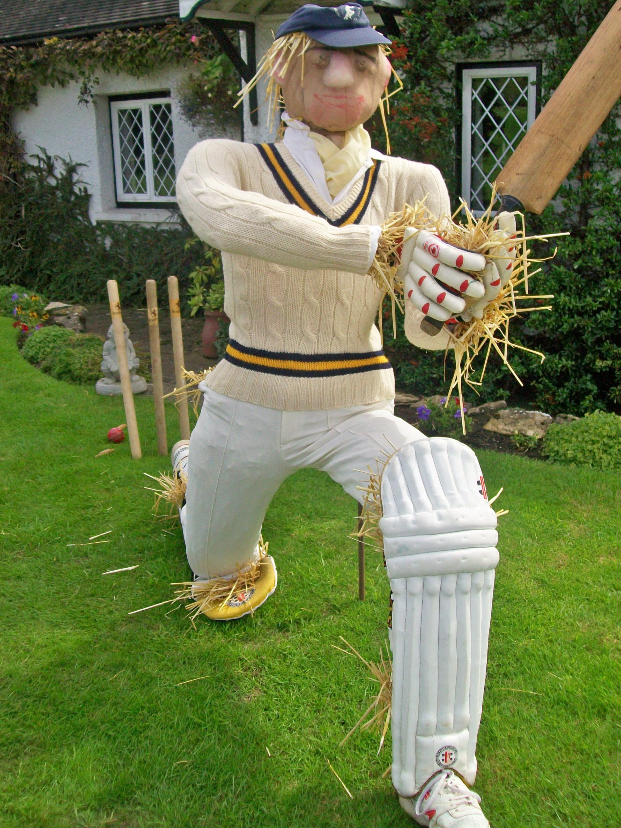 Cricketer_Scarecrow